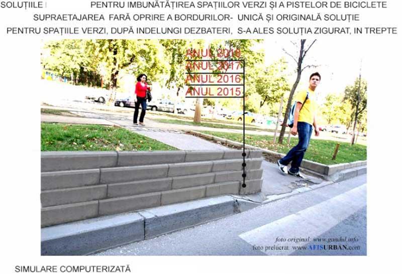 borduri supraetajate imagine cu oameni care se pregatesc sa traverseze o strada si borduri supraetajate