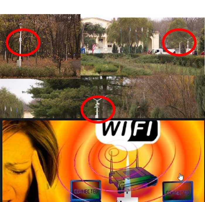 Wi Fi in Spatii Publice colaj cu avertizari privind posibile pericole pentru sanatate pentru copii